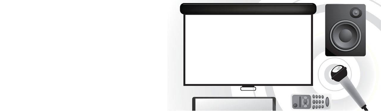 Beamer- en schermverhuur